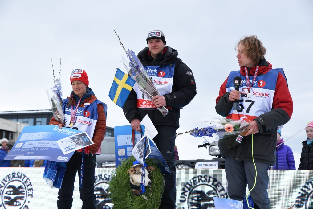 New film The Riders of the Arctic documents Petter's win at Finnmarksløpet 2016