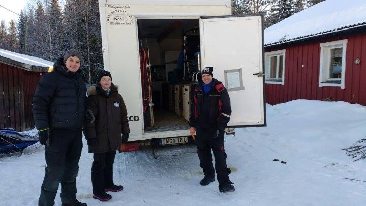 The start of the journey to Femundløpet